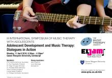 Music Therapy event at QMU 11th April